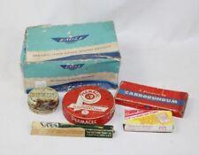 Vintage Lot 6 Hardware Advertising Items - Permacel, Pelueger Fish Hooks & More