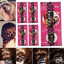 5 pcs Women Fashion Hair Styling Clip Bun Maker Braid Tool Hair Accessories