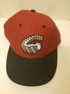 Altoona Curve '47 Brand Authentic Strapback Hat - Red/Black