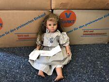 Zapf Künstlerpuppe Vinyl Puppe 63 cm. Top Zustand