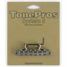 TonePros Tune-o-matic guitare pont ABR-1 pour Gibson Les Paul-nickel