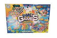 Classic Family Board Games Compendium Full Size Collection Fun Kids Children New