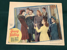 """Young And Willing 1942 United Artists 11x14"""" lobby Susan Hayward William Holden"""