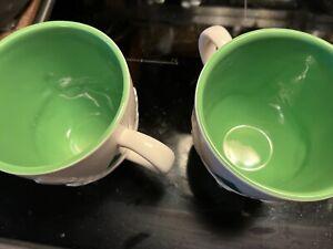 Starbucks 2006 Holiday Christmas 16 oz Coffee Tea Mug Cup Trees Sledding Snow 3D