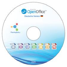 Open Office DVD für WINDOWS 10, 8 und 7 Office Programm, Textbearbeitung 2020