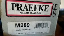 Praefke Front Brake Pads M289
