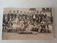 1931 Australian School Class  Photo Postcard    ( Lot P1)