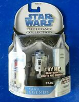 2008 STAR WARS SAGA LEGENDS R2-D2 ACTION FIGURE Legacy Collection ~ New