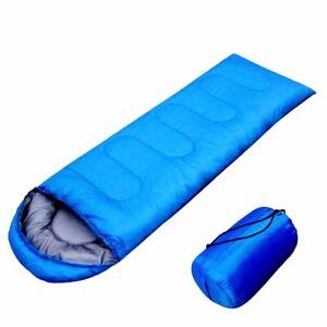 4 Season Sleeping Bags Camping Rectangular Envelope Zip Up Kids Adult Hiking