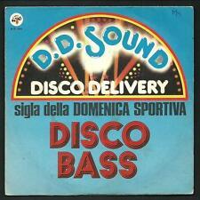 "Diusco Bass - Sigla trasmissione : Domenica sportiva -   vinile 45 giri / 7"" - 1"