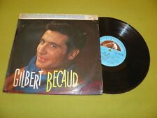 "Gilbert Becaud - Pilou...Pilou...He - RARE Original 1959 France Press 10"" 25cm"