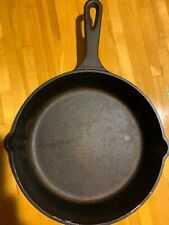 "9"" Cast Iron Skillet GM PRESSURE CASTING INDUCTION GAS ELECTRIC Frying Pan"
