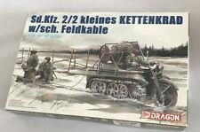 Dragon Model Kit #6128 1/35 ~ Sd.Kfz.2/2 KLEINES KETTENKRAD w/sch FELDKABLE