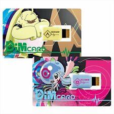 Bandai Vital Bracelet Digital Monster Digimon Dim Card V2 Angolamon & Jerrymon
