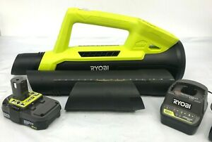 Ryobi P2109 18V 90 MPH 200 CFM Cordless Leaf Blower kit LN