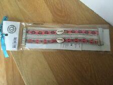 Bracelet Hipanema nala twin lien brésilien  argenté taille L neuf 60 euros