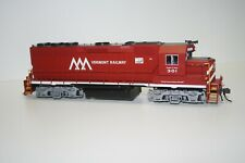 ATLAS MASTER VERMONT RAILWAY GP-40 LOW NOSE RD#301 ITEM#9198 DC/DCC EQUIPPED