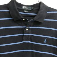 🌴🏇Men's Ralph Lauren Short Sleeve Polo Shirt XL Striped🌴Free Shipping