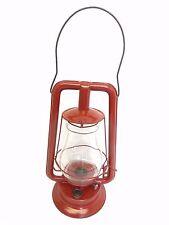Restored Red Defiance Lantern STPG Co No 0 Perfect Tubular Barn Lamp Decorative