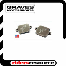Graves Motorsports Yamaha YZF/FZ/ZX 03-16 Smog Block Off Plates