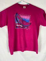 Vintage Jerzees Whale Shirt Large 90's Retro