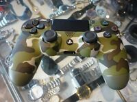 GENUINE SONY PLAYSTATION 4 WIRELESS CONTROLLER CUH-ZCT2E - CAMO / AU STOCK !!