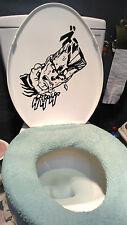 JoJo's Bizarre Adventure JEAN PIERRE POLNAREFF Vinyl Toilet Seat Wall Sticker