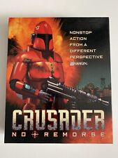 CRUSADER NO REMORSE*ROLE PLAYING GAME+Clue-book*Tested And Works*Origin*