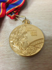 1988 Seoul Olympic 'Gold' Medal with Ribbon & Display Stand !!!