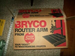 Bryco Router Arm Assembly Accessory New Old Stock  Parts From Shopsmith Mark 5