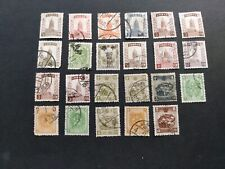 China - Manchuria - 3 unused & 20 used stamps ( 1932/1936 )
