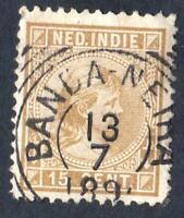 PAYS BAS- inde Néerlandaise-  -N°10 -USED -