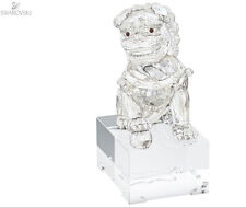 SWAROVSKI TUTELARY SPIRIT GUARDIAN LION MALE #5058881 BRAND NIB LARGE CRYSTAL FS
