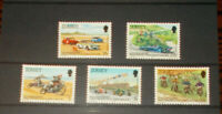 JERSEY MINT STAMPS 24.7.1980 60TH ANNIV OF JERSEY MOTORCYCLE & LIGHT