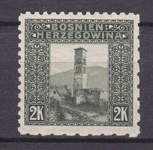 Bosnia Herzeg- 1906 year - Michel 43 G - LZ5  9 1/2:6 1/2 - MNH - 250 Euro