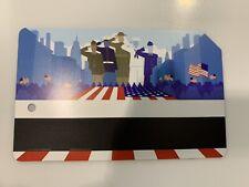 Veterans Day Metrocard Plus Subway Emergency Card