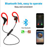 4.1 Bluetooth Sweatproof Wireless Earphones Headphones with Mic Sport Gym salew#