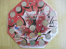 Vancouver 2010 Coins Olympic Games w/holder lot collectors hobby souvenir