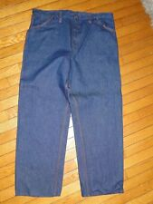 Vintage Big Mac Men's Carpenter Work Jeans JC Penny's  40x30 Sanforized FLAW