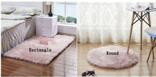 Long Fluffy Rug Soft Faux Fur Foot Mats Home Bedroom Seat Rugs Carpet Pink