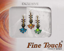 bindi bijou de peau front Bollywood multicolore dot tilak IND-R 1372