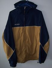 Vintage Columbia Mesh Lined Ski Snowboard Hooded Jacket / Shell Lg