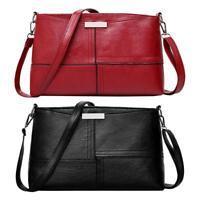 Women Ladies Cross Body Shoulder Bag Tote Messenger Leather Satchel Handbag Bags