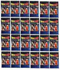 Dragon Ball Z SAIYAN SAGA 24x Booster Pack Lot Sealed DBZ CCG Score NEW