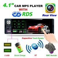 """4.1"""" 1DIN écran tactile voiture stéréo Autoradio MP5 lecteur FM Radio AUX-IN USB"""
