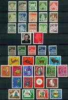 Bund Jahrgang 1966 - Auswahl aus Michel Nr. 489 - 528 , ** , postfrisch
