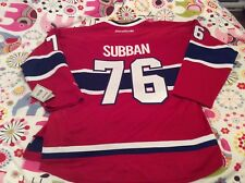 Montreal Canadiens  PK Subban jersey