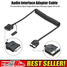 Interface Audio Adapter Cable Lead For Range Rover Sport Jaguar XF iPod iPhone