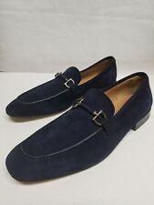 Salvatore Ferragam Navy Suede loafers 10D