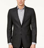 Calvin Klein Men's slim-Fit Textured Sport Coat Size 44L